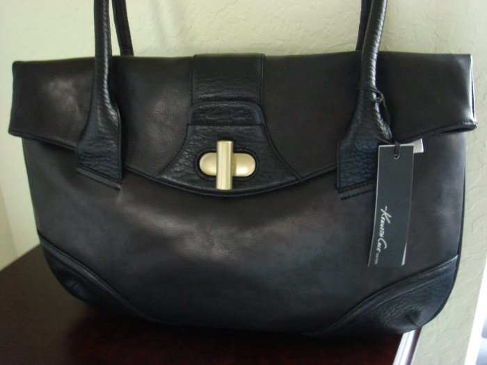 Kenneth Cole Black Leather