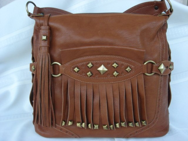 Michael Kors Fringed Hobo
