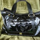 Kooba Black Patent Leather Hudson