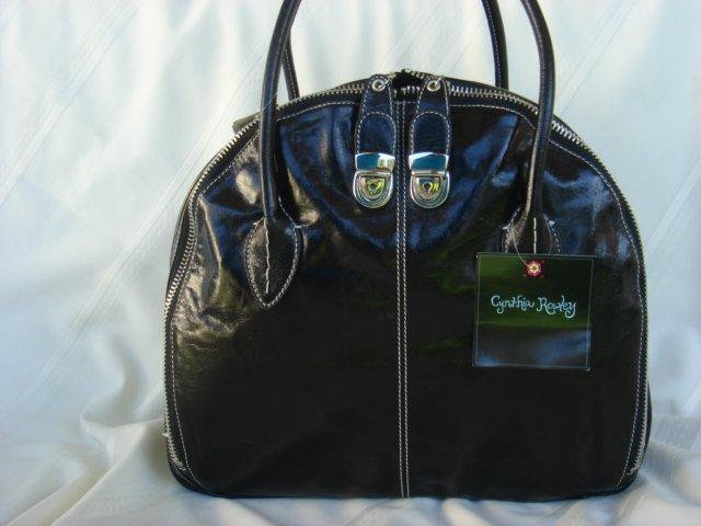 Cynthia Rowley Black Leather Ginny Ahene