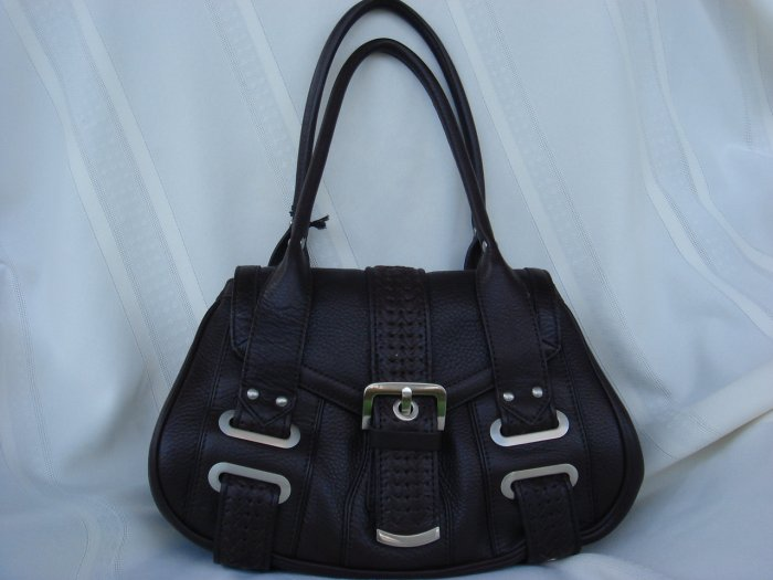 Kenneth Cole Weave-It-Be Brown Leather