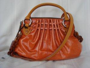 Marc Jacobs Cecilia Orange Leather $1,250++