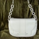 Kate Spade White Leather Layne Shoulder Handbag $425++