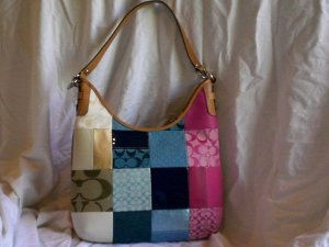 Coach Patchwork Convertible Hobo F14650 350+