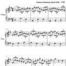 Jesu Joy of Man's Desiring Easy Piano Sheet Music PDF