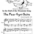 In the Hall of the Mountain King the Peer Gynt Suite Easy Piano Sheet Music Tadpole Edition PDF