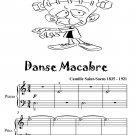 Danse Macabre Easy Piano Sheet Music Tadpole Edition PDF