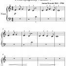 New World Symphony Beginner Piano Sheet Music PDF
