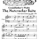 Grandfather's Waltz the Nutcracker Suite Easy Piano Sheet Music Tadpole Edition PDF