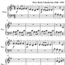 Russian Dance Nutcracker Suite Beginner Piano Sheet Music PDF