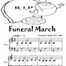 Funeral March Easiest Piano Sheet Music Tadpole Edition PDF