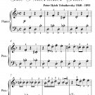 Dance of the Sugar Plum Fairy Easy Piano Sheet Music PDF
