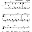 Romance de Amor Easy Piano Sheet Music PDF