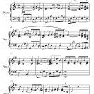 Pavane for a Dead Princess Easy Intermediate Piano Sheet Music PDF