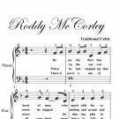 Roddy McCorley Easy Piano Sheet Music PDF