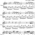 My Lady Carey's Dompe Easy Piano Sheet Music PDF