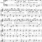 The Holy City Easy Piano Sheet Music PDF