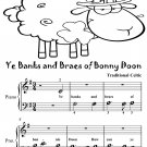 Ye Banks and Braes of Bonny Doon Beginner Piano Sheet Music Tadpole Edition