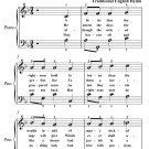 A Little That the Righteous Hold Easy Piano Sheet Music PDF