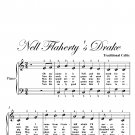 Nell Flaherty's Drake Easy Piano Sheet Music PDF