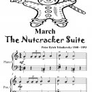 March the Nutcracker Suite Easy Piano Sheet Music Tadpole Edition PDF