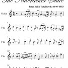 Chinese Dance Nutcracker Suite Easy Violin Sheet Music PDF