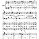 Missouri Waltz Easy Piano Sheet Music PDF
