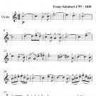 Ave Maria Easy Violin Sheet Music PDF