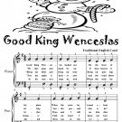 Good King Wenceslas Easy Piano Sheet Music Tadpole Edition PDF
