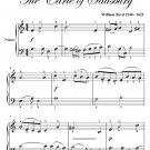 Pavan the Earle of Salisbury Easy Piano Sheet Music PDF