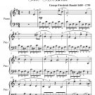 Behold and See If There Be Any Sorrow Messiah Easy Piano Sheet Music PDF