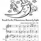 Break Forth O Beauteous Heavenly Light Easy Piano Sheet Music Tadpole Edition PDF