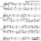 Gaudeamus Igitur Academic Festival Overture Easy Piano Sheet Music PDF