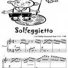 Solfeggietto Easy Piano Sheet Music Tadpole Edition PDF