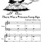 There Was a Princess Long Ago Beginner Piano Sheet Music Tadpole Edition PDF