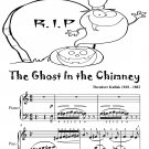 The Ghost In the Chimney Easy Piano Sheet Music Tadpole Edition PDF