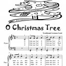 O Christmas Tree Easiest Piano Sheet Music Tadpole Edition PDF