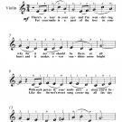 When Irish Eyes Are Smiling Easy Violin Sheet Music PDF