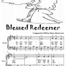 Blessed Redeemer Easy Piano Sheet Music Tadpole Edition PDF