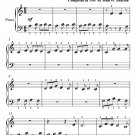 Teddy Bear's Picnic Beginner Piano Sheet Music PDF