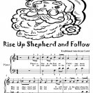Rise Up Shepherd and Follow Easy Piano Sheet Music Tadpole Edition PDF