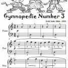 Gymnopedie Number 3 Easiest Piano Sheet Music Tadpole Edition PDF