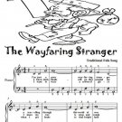 The Wayfaring Stranger Easy Piano Sheet Music Tadpole Edition PDF
