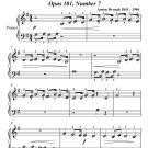 Humoresque Beginner Piano Sheet Music PDF