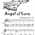 Angel of Love Beginner Piano Sheet Music Tadpole Edition PDF