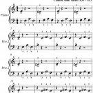 Aquarium Carnival of the Animals Beginner Piano Sheet Music PDF