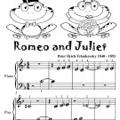 Romeo and Juliet Beginner Piano Sheet Music Tadpole Edition PDF