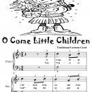 O Come Little Children Easy Piano Sheet Music Tadpole Edition PDF