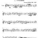 Casta Diva Norma Easy Violin Sheet Music PDF