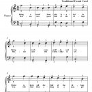 Bring a Torch Jeanette Isabella Easiest Piano Sheet Music PDF